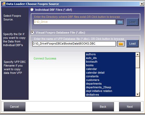 Foxpro to MySQL Converter